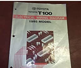 1995 toyota t100 truck electrical wiring diagram service shop manual rh amazon com