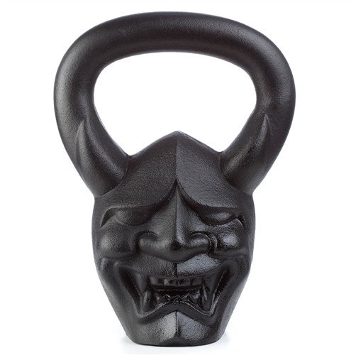Hannya Demon Kettlebell 35 lbs for Crossfit, HIIT, and Strength Training Made in USA