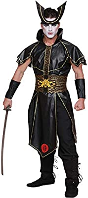 DreamGirl Disfraz de Hombre Guerrero japonés Samurai Asia Mardi ...