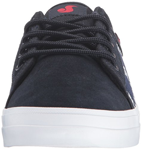 Leaf DVS Navy Red Tea WOS Women's Aversa Skateboarding Shoe U8SCU