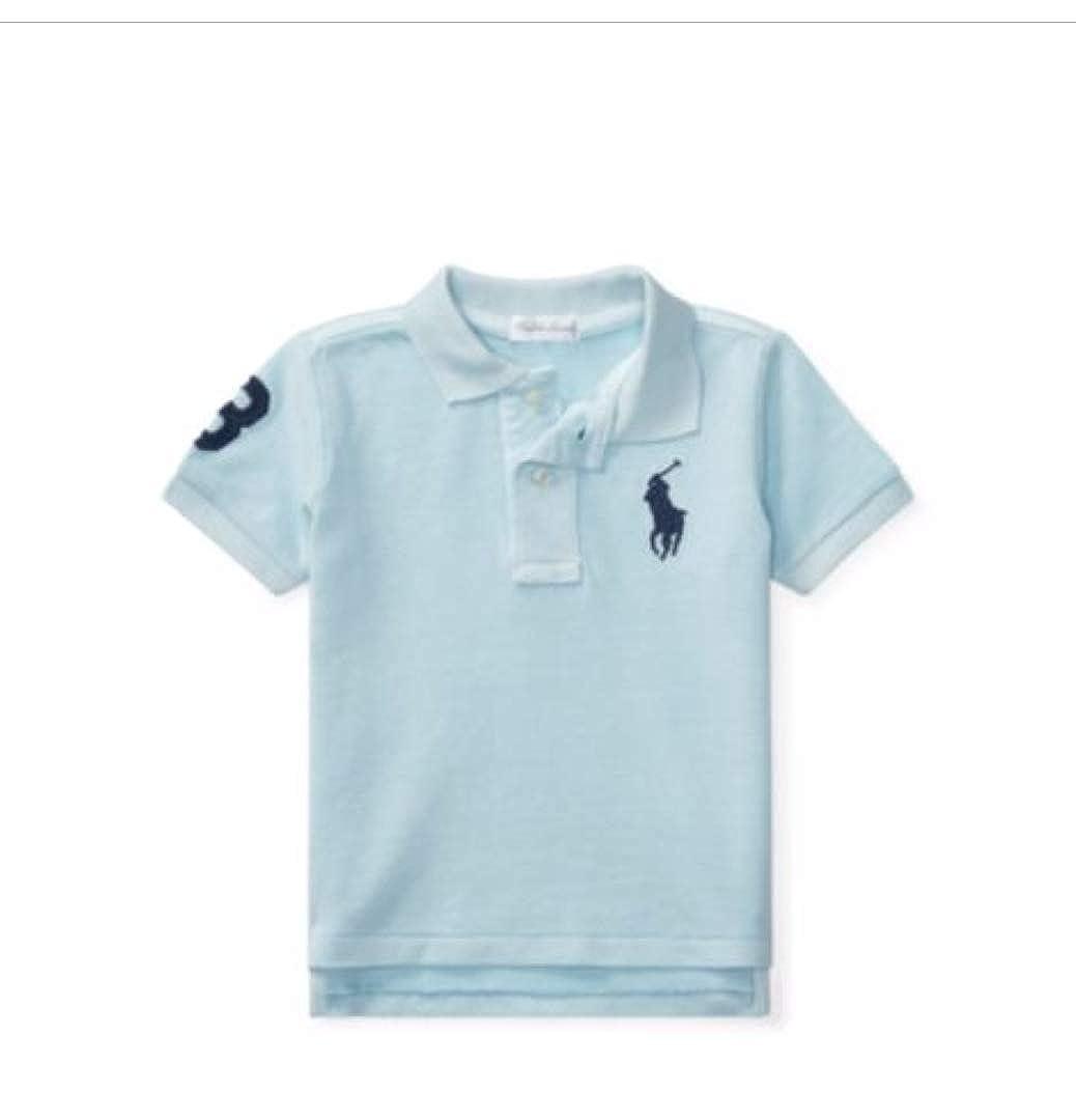 0-24 Monate Ralph Lauren Baby Jungen Poloshirt Blau blau