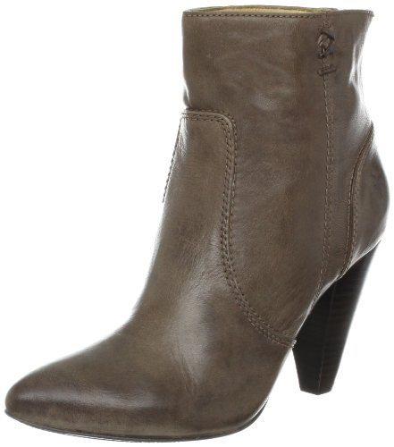 FRYE Women's Regina Heel Ankle Boot, Grey, 10 M US