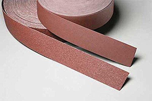 3M Utility Cloth Roll 314D, Aluminum Oxide, 2'' Width x 50 yds Length, P220 Grit, Maroon (Pack of 1)