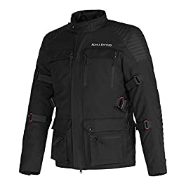 Royal Enfield Nirvik Riding Jacket Black (S) 38 CM (RRGJKM000061)