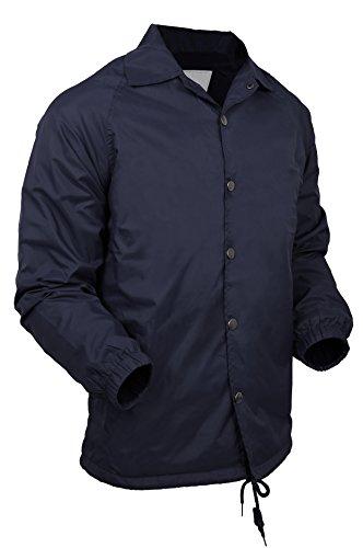 Nylon Button Front Jacket - 6