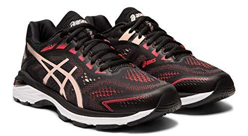 ASICS GT-2000 7 Women's Running Shoes, Black/Breeze, 9
