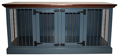 Eagle Furniture Manufacturing K9SDD-302364-SBCC K9 Crate, Smokey Blue