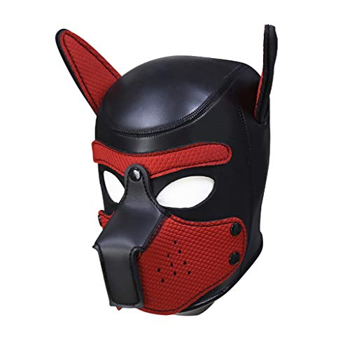Red Passion Male Mask - WFM Men and Women Rubber Sponge