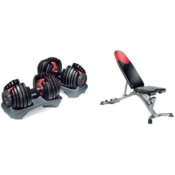 Amazon Bowflex SelectTech 552 Adjustable Dumbbells