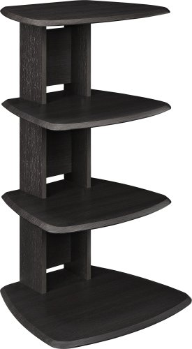 Media Pier Storage (Ameriwood Home Galaxy Audio Stand, Espresso)