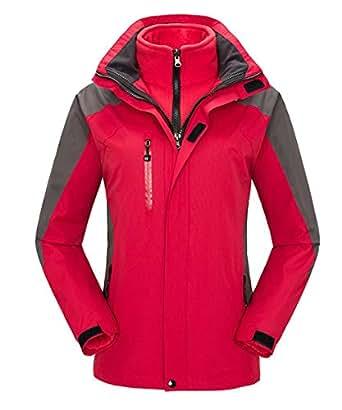Amazon.com: Womens Waterproof Ski Jacket 3 in 1