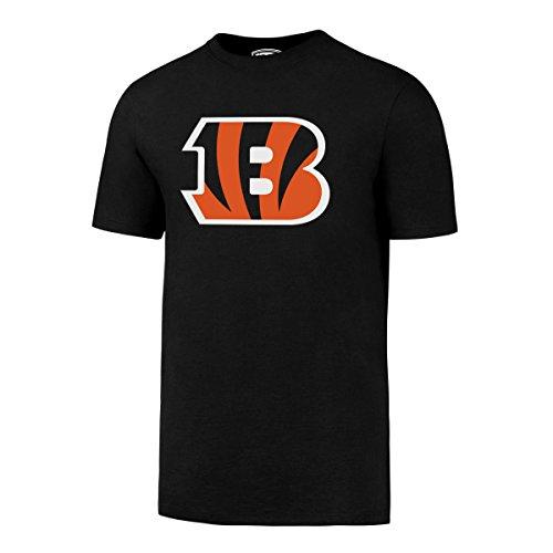 NFL Cincinnati Bengals Men's OTS Rival Tee, Jet Black, Large Cincinnati Bengals Classic Football