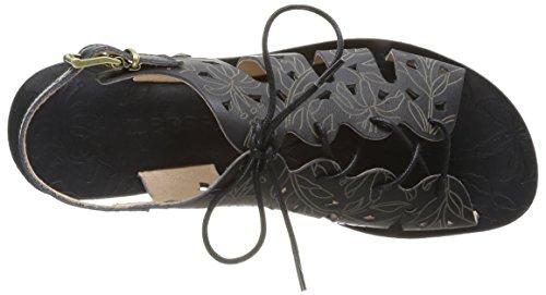 Neosens Daphni 428, Sandales femme Noir (Ebony)