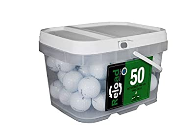 Reload Recycled Golf Balls Titleist Pro v1X Refurbished Golf Balls (50 Pack)
