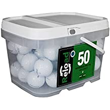 Reload Recycled Golf Balls Titleist Pro v1X Refurbished Golf Balls (50 Pack)