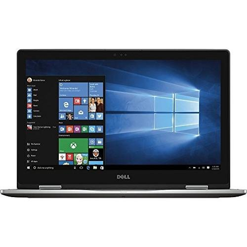 Dell Inspiron 7000 15.6'' Convertible 2-in-1 Full HD (1920 x 1080) Touchscreen Premium Laptop, Intel Core i7-7500U, 12GB DDR4, 512GB SSD, Bluetooth, USB Type C, HDMI, 802.11AC - Gray