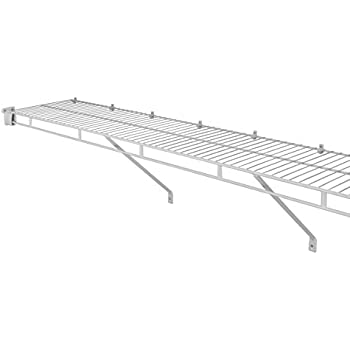 Amazon Com Closetmaid 1078 Shelf And Rod 8ft By 12in