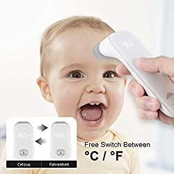 Forehead Thermometer, Infrared Baby Thermometer for Best Accuracy with 3 Ultra Sensitive Sensors,Medical Digital Fever Thermometer with New Algorithm,Instant Reading for Baby Kids and Adults