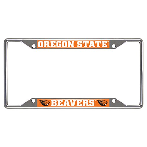 Oregon State Logo Plate (FANMATS 16838 Oregon State University License Plate Frame)