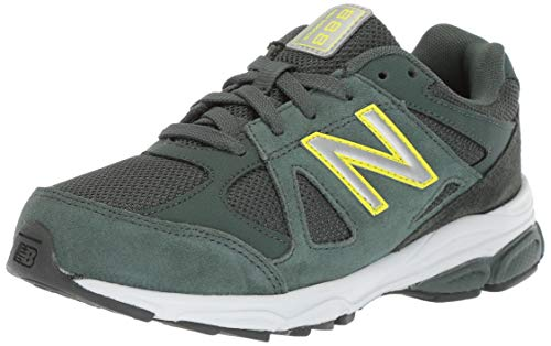 New Balance Boys' 888v1 Running Shoe Faded Rosin/Limeade 7 M US Big - Balance Shoes New Boys Wide