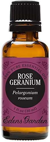 Edens Garden Rose Geranium Essential Oil, 100% Pure Therapeutic Grade (Highest Quality Aromatherapy Oils- Skin Care & Stress), 30 ml