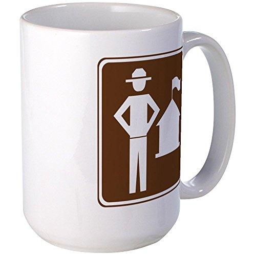 - CafePress Ranger Station Sign Large Mug Coffee Mug, Large 15 oz. White Coffee Cup