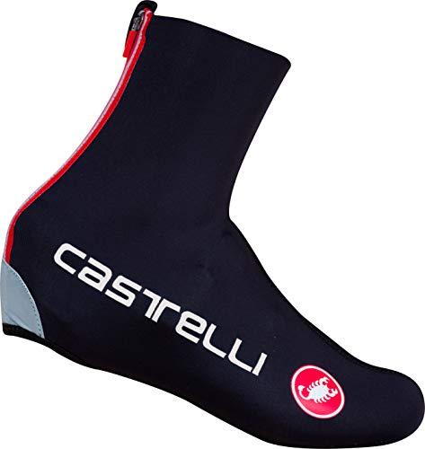 Castelli Mens Diluvio C Shoecover 16, Black, L/XL