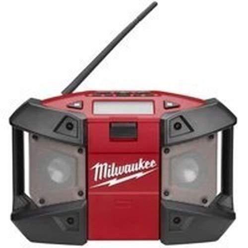 New Milwaukee 2590-20 M12 Cordless Tool Lithium Ion Jobsite Radio Mp3 12 Volt - Milwaukee Job Site Radio