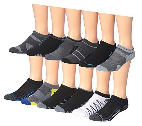 men s 12 pairs low cut athletic