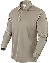 c51ad505af75e Performance Long Sleeve Tactical Polo Shirt