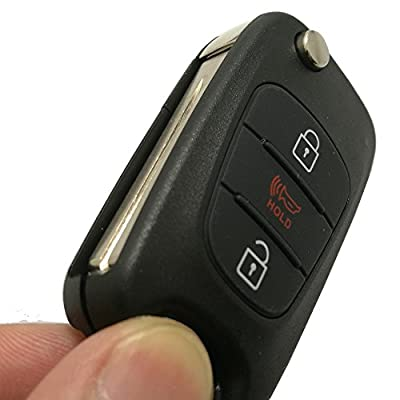 Horande Keyless Entry Remote Control Key Fob Case for 2011 2012 2013 Kia Soul Sportage Key Fob Shell Replacement Key Cover: Automotive