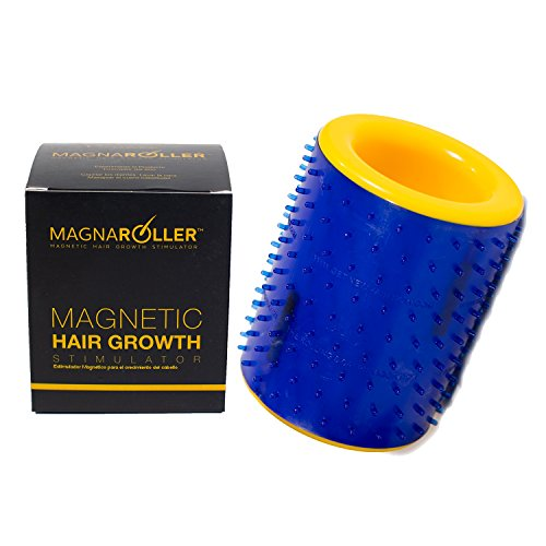 MagnaRoller Scalp Massager for Hair Growth - Hair Loss Treatment for Men and Women with Thinning, Dry and Dull Hair - Increases Blood Flow to Scalp & Hair follicles for Thicker, Healthier Hair. (Scalp Massage Hair Growth)