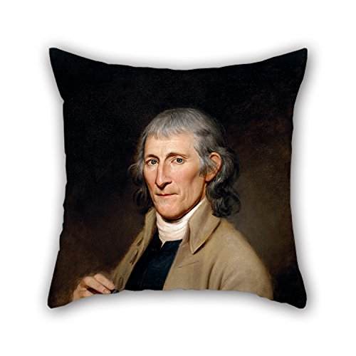 Oil Painting Charles Willson Peale - Francis Bailey Pillowcase 18 X 18 Inch / 45 By 45 Cm Gift Or Decor For Boys,couples,relatives,kitchen,outdoor,adults - 2 Sides