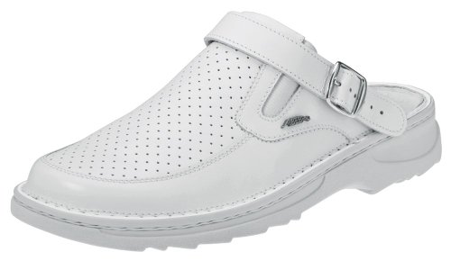 "Abeba 5830-44 taille 111,8 cm reflexor ""occupational-clog Chaussures - blanc"