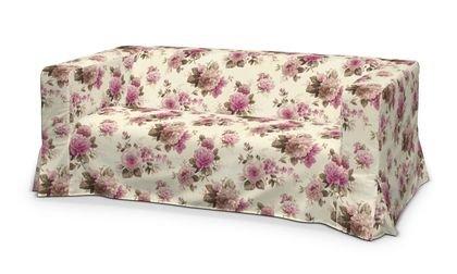 Funda para IKEA KLIPPAN 2 sofá, largo de tela de flores rosa ...