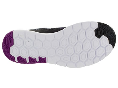 Nike Wmns Flex Experience RN 4 Premium - Zapatillas para mujer Black/Vivid Purple/White