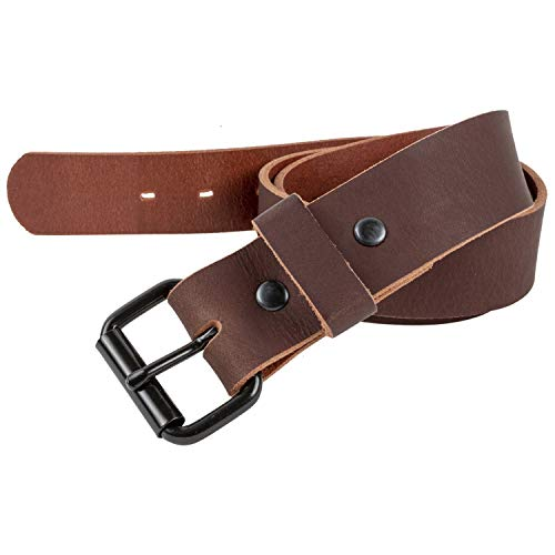 The Classic Leather Everyday Belt | Made in USA | Full Grain Leather (Classic Belt)