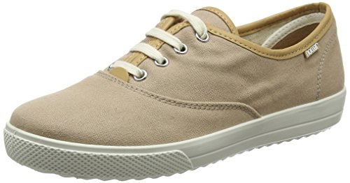 Hotter Damen Mabel EXF Oxfords Beige