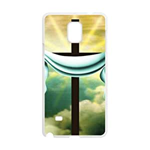 Pure white cloth and cross Cell Phone Case for Samsung Galaxy Note4 by icecream design