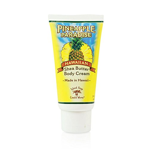 Island Soap & Candle Works Shea Butter Body Cream, Pineapple Paradise
