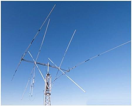 Antena combinada Cubical Quad elementos 2 14/21/28 MHz Dipolo ...