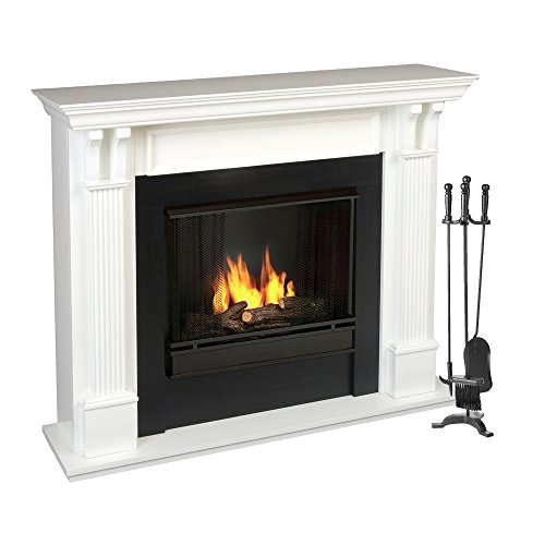 Mind Reader 4PCFIRE-BLK 3 Piece Stand Alone Fire Place Set, Iron Steel Construction, Includes Stand, Brush, Shovel/Scooper, Poker, Black