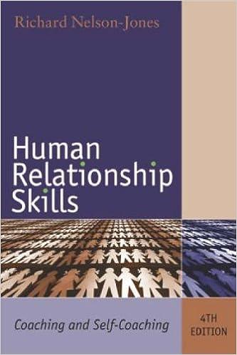 Book Human Relationship Skills: Coaching and Self-Coaching by Richard Nelson-Jones (2006-03-09)