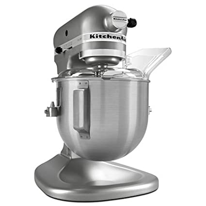 Factory Reconditioned KitchenAid Pro 500 Series 5 Qt Lift Stand Mixer  Silver  Metallic