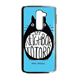 LG G2 Cell Phone Case Black_My Neighbor Totoro_004 M4Q5A