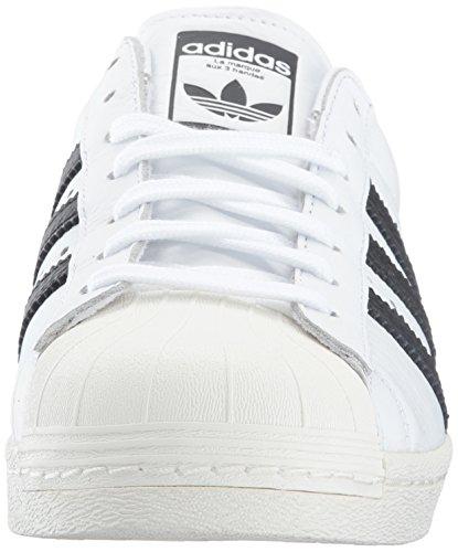 adidas Superstar Weiß Herren Schwarz Turnschuhe rrqwTC5vO