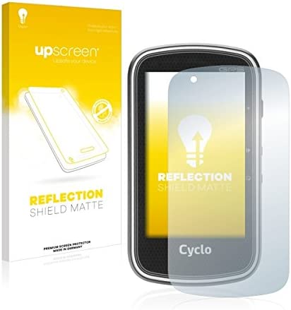 Strong Scratch Protection Multitouch Optimized Matte and Anti-Glare upscreen Reflection Shield Matte Screen Protector for Mitac Mio Cyclo 400