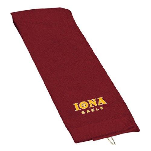 Ionaマルーンゴルフタオル「公式ロゴ」   B00W8XYZTE