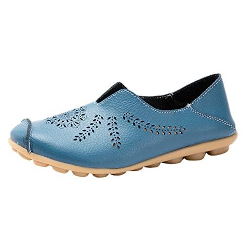 Women Summer Sandals, Women Summer Bohemia Sweet Beaded Sandals Clip Toe Sandals Beach Shoes 2018 Light Blue