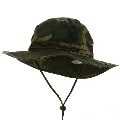 e4Hats.com Big Size Washed Hunting Hats -Camo 2XL-3XL